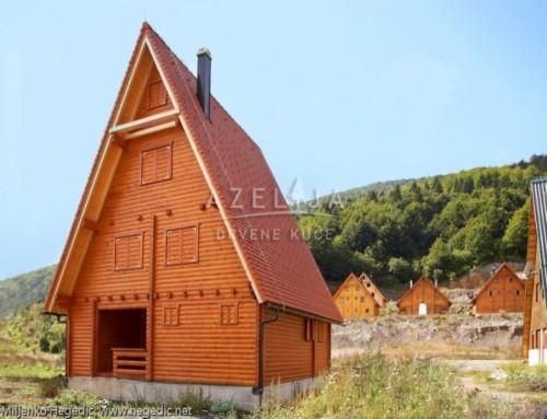 Drvena kuća Jasenak