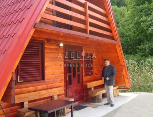 Drvena kuća Kupica