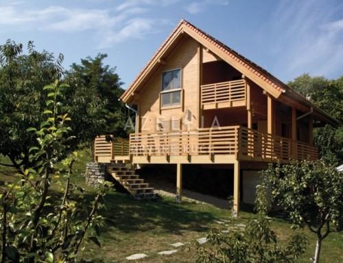 Drvena kuća Laura